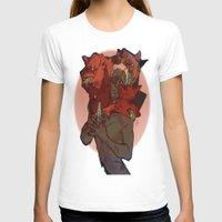 bow T-shirts featuring Bow Bow by Brit Fukushima