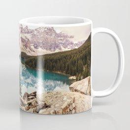 Moraine Lake III Banff Summer Mountain Reflection Coffee Mug