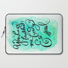 You Have Bewitched Me Laptop Sleeve