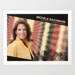 Michele Bachmann Art Print
