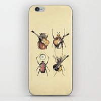 stars iPhone & iPod Skins featuring Meet the Beetles by Eric Fan