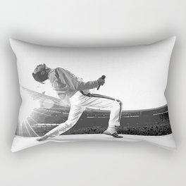 Freddie of Queen at Wembley 1986 Rectangular Pillow