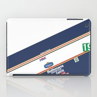 honda iPad Cases featuring Freddie Spencer 1985 Rothmans Honda by Krakenspirit