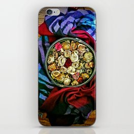 Roses and Wood iPhone Skin