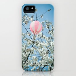 Cherry Bloosom Time iPhone Case