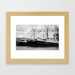 Ships of Beaufort Framed Art Print