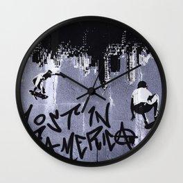 Lost in America Wall Clock