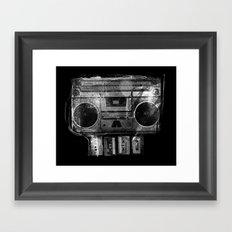 DOOMBOX Framed Art Print