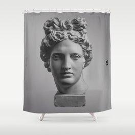 The Minimalist Poster Design #1 Shower Curtain