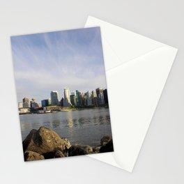 Vancouver Cityscape Stationery Cards