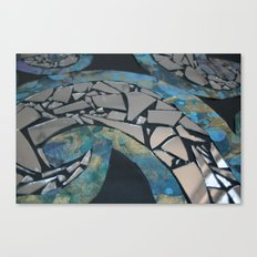 REFLECTIVE RYTHM Canvas Print