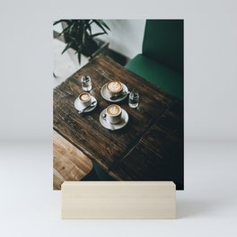 Cafe Latte Art Mini Art Print