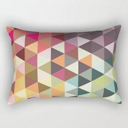 Abstract Shapes Rectangular Pillow