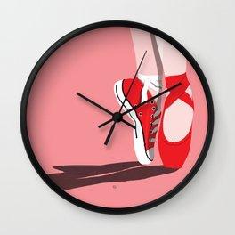 Backup Plans Wall Clock
