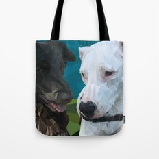 Barry Dog Tote Bag