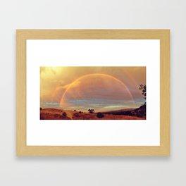 the definition of beauty Framed Art Print