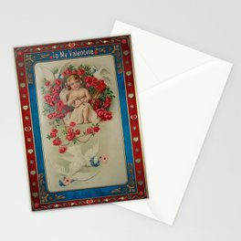 Valentine's Day Vintage Card 064 Stationery Cards