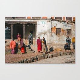 Bhaktapur Streets Canvas Print