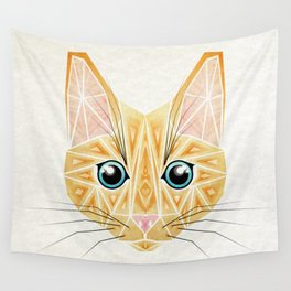 orange cat Wall Tapestry