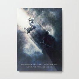 Assassins Creed Metal Print