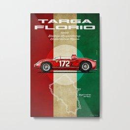 Targa Florio Vintage Metal Print