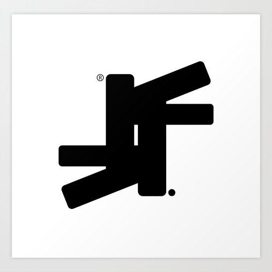 TSF Logo Art Print