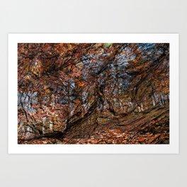 Avalon Wood Impressions Art Print