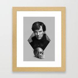 The high-functioning sociopath Framed Art Print