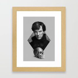 The high-functioning sociopath Framed Art Print
