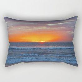 Sun Peeking Rectangular Pillow