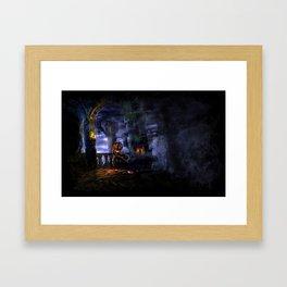 Castlevania: Vampire Variations- Bridge Framed Art Print