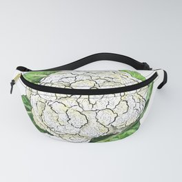Cauliflower from the Eat Your Veggies Series Fanny Pack