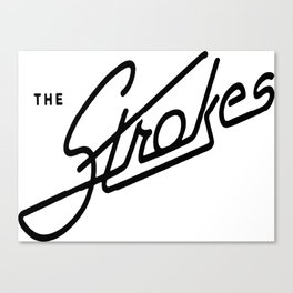 the strokes Canvas Print