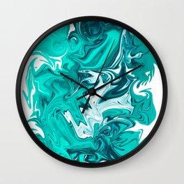 ABSTRACT LIQUIDS XXVII Wall Clock