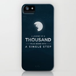 A Journey of a Thousand Miles iPhone Case
