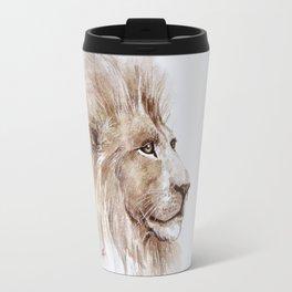 Wise lion Travel Mug