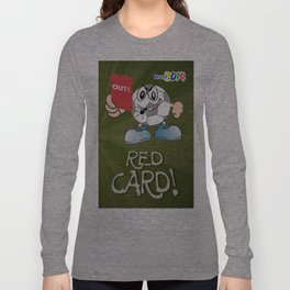 Red Card Comic Long Sleeve T-shirt