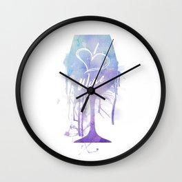 I Heart Wine Wall Clock