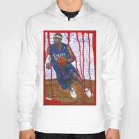 nba Hoodies featuring NBA PLAYERS - Allen Iverson by Ibbanez