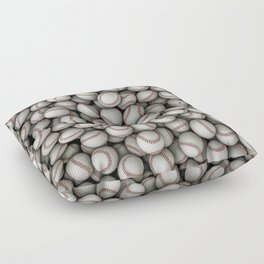 Baseballs Floor Pillow