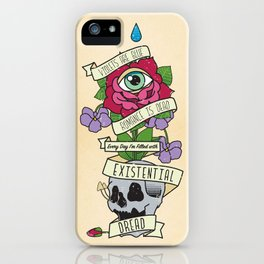 Existential Dread iPhone Case