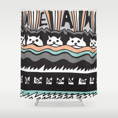 MEAW Shower Curtain