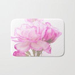 Light Pink Blend Rose #1 #floral #decor #art #society6 Bath Mat