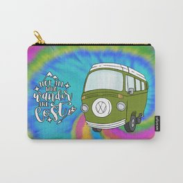 Camper Bus Not All Who Wander Are Lost Carry-All Pouch