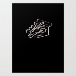 Stair problems Art Print