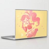 olivia joy Laptop & iPad Skins featuring Olivia by tcong
