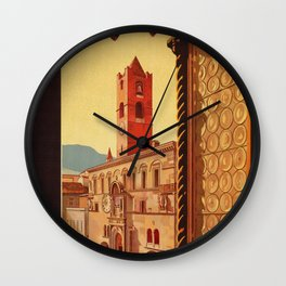 Old Ascoli Piceno Wall Clock