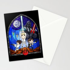 Window to A New Hope Stationery Cards