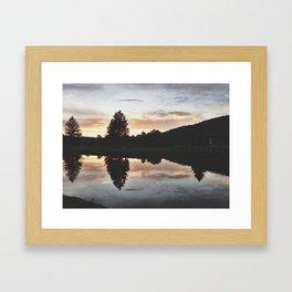 Hamlin Lake Framed Art Print
