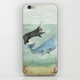 Millie and Her Whale iPhone Skin